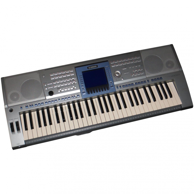 Yamaha psr 1500 workstation keyboard zustand sehr gut for Yamaha psr 190 manual