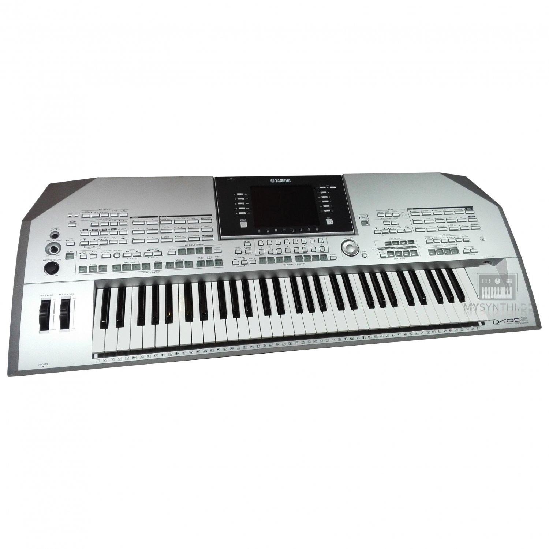 yamaha tyros 2 workstation keyboard inkl notenhalter 1. Black Bedroom Furniture Sets. Home Design Ideas